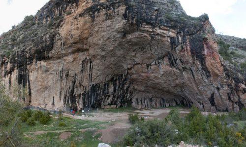 Santa Linya zona de escalada